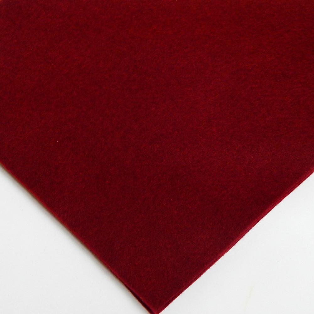 Фетр мягкий №69 марсала, лист 30х20 см, 1,5 мм (Тайвань)