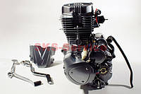 Двигатель 200 кубовый на китайский мотоцикл с толкателями