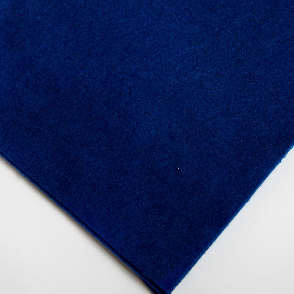 Фетр мягкий №74 королевский синий, лист 30х20 см, 1,5 мм (Тайвань)