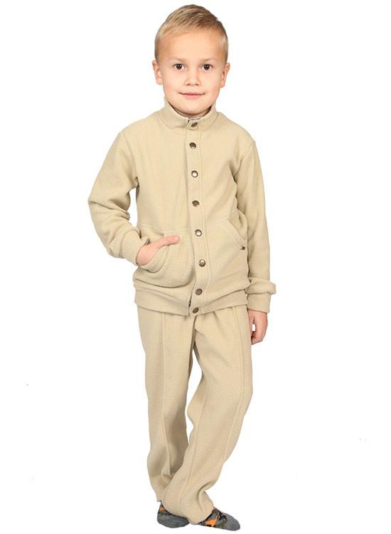 Дитячий флісовий костюм для хлопчика
