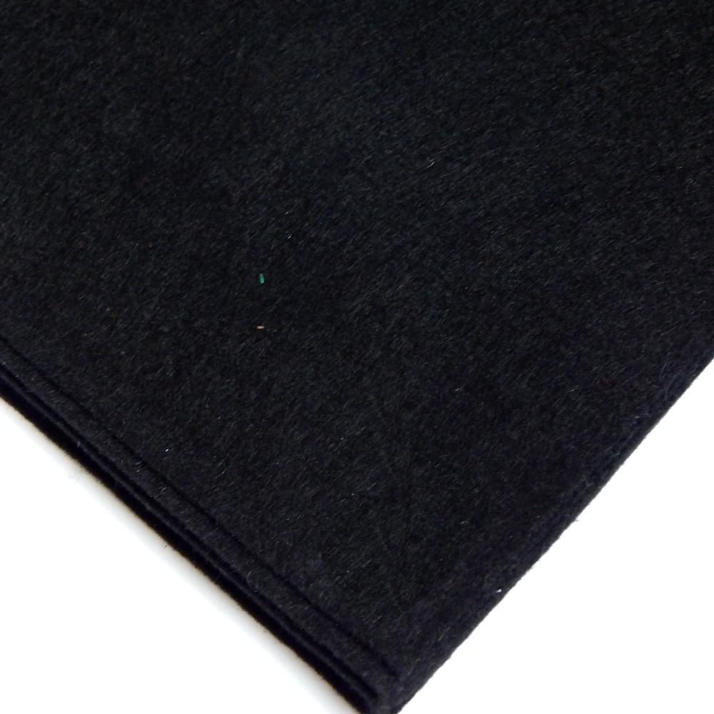 Фетр мягкий №81 черный, лист 30х20 см, 1,5 мм (Тайвань)