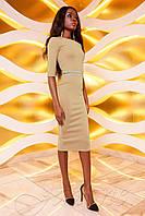 Платье Богемия бежевый