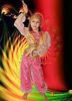 Купить карнавальный костюм в магазине - Восточная красавица малиновая