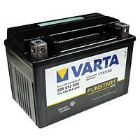 Мотоаккумулятор надежный  VARTA  гелевый 152x88x106