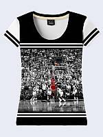 Женсая футболка Игра в баскетбол