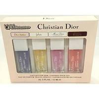 CHRISTIAN DIOR Набор с Феромонами Christian Dior 4х15 ml. LUX