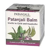 Patanjali Balm Useful In Cold And Headache (бальзам от простуды и головной боли).