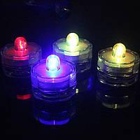 Свеча электронная малая набор 12 шт. микс
