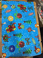 Вафельное полотенце новогодние  40Х70 (Ш.П.К.)