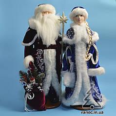 Парочка Дед Мороз и Снегурочка 0455/0453