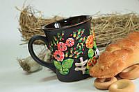 Чашка с декоративной лепкой
