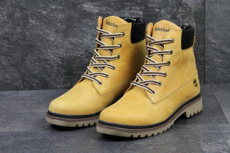 Чоловічі зимові черевики Timberland рижі (3283) - Камала в Хмельницком a31d926e4a13e
