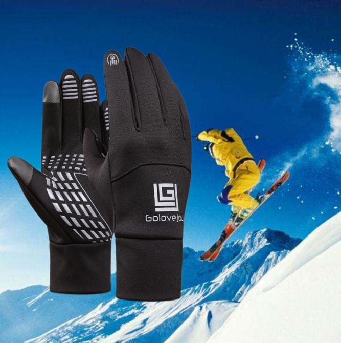 Спортивні рукавички GoloveJoy осінь / зима (BLACK)