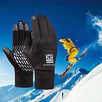 Спортивні рукавички GoloveJoy осінь / зима (BLACK), фото 1