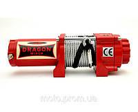 Лебедка Dragon Winch DWM 3500 HD  электрическая для квадроциклов, ATV, вездеходов