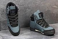 Мужские зимние кроссовки Adidas Blauvelt темно голубые 3602