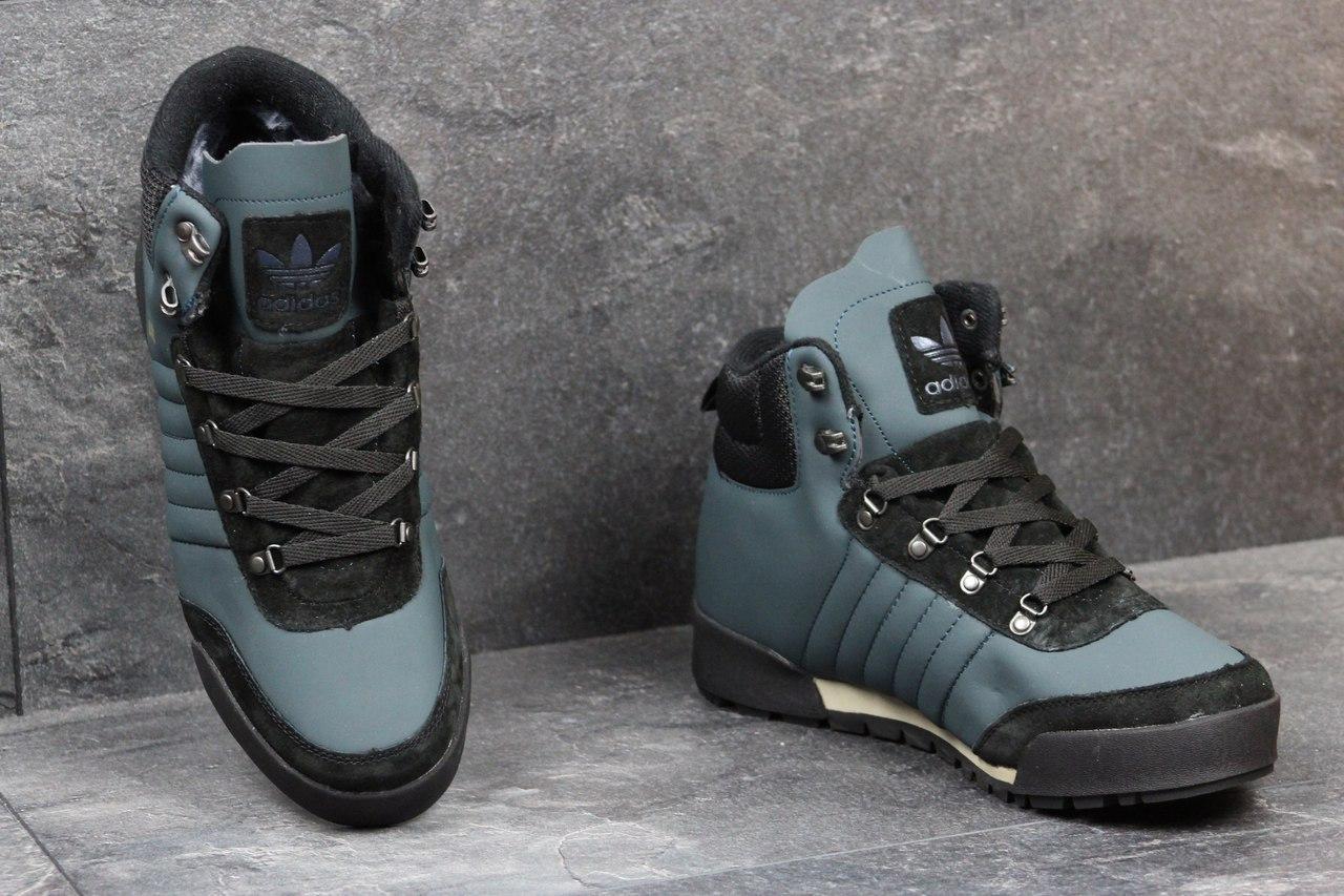 2ea259ca Мужские зимние кроссовки Adidas Blauvelt темно голубые 3602 - Я в шоке!™ в  Хмельницком