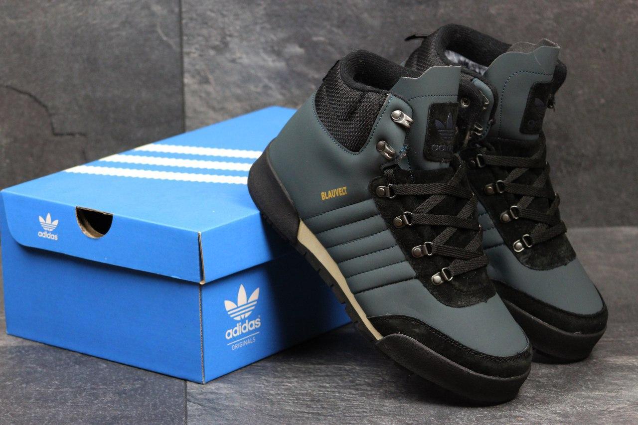 f0d2f40e Мужские зимние кроссовки Adidas Blauvelt темно голубые 3602, цена 966,01  грн., купить в Хмельницком — Prom.ua (ID#606892255)