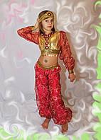 Детские карнавальные костюмы - Восточная красавица бордовая