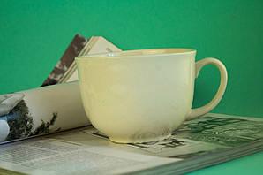 Чашка керамическая Аппетитка, белая