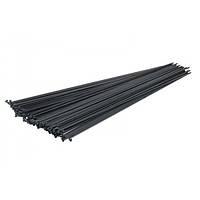 Спица черная стальная 248 мм с ниппелем