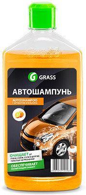 Автошампунь апельсин Universal 1L Grass
