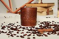 Керамический стакан из красной глины