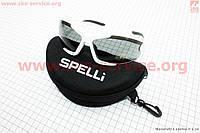 Очки белые + набор для ухода, в чехле жестком SGL-990 SPELLI