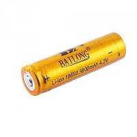 Аккумулятор Bailong Li-ion 18650 8800mAh 4.2V Gold