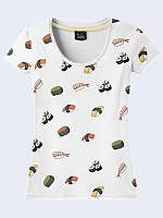 Женсая футболка Japanese sushi