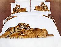 Комплект постельного белья La Scala сатин АВС-297 (Семейный)