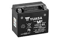 Качественный аккумулятор 12 вольт 10 ампер на скутеры мопеды мотоциклы YUASA гелевый 150 мм x 87 мм x 130 мм
