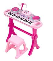 Синтезатор RMT-2068G-NL (37клавиш,на ножках,стульчик,микрофон,запись,музыка,свет,на батарейках)