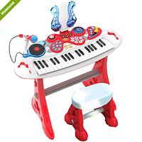 Синтезатор RMT-2072-NL (37клавиш,на ножках,стульчик,микрофон,запись,музыка,свет,на батарейке)