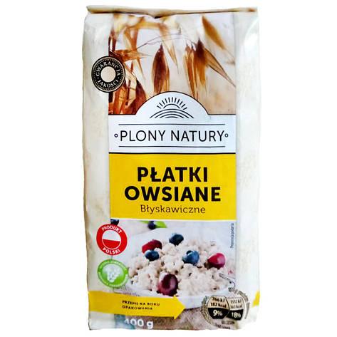Крупа овсяная Plony Natury Platki owsiane 400г, фото 2