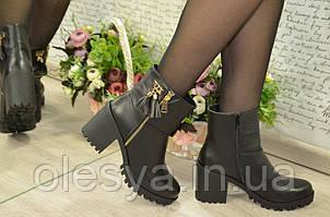Модные женские демисезонные ботинки Размеры 36, 37, 41