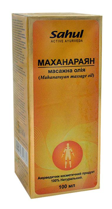 Суставное масло Маханараян, SAHUL INDIA, 100мл