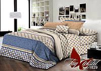 Двуспальный комплект постельного белья ранфорс R1829 ТM TAG