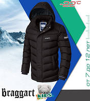 Куртка на зиму детская Braggart 6482 кофе
