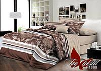 Двуспальный комплект постельного белья ранфорс R1888 с комп. ТM TAG