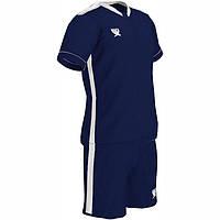 Детская футбольная форма Swift Prioritet темно сине-белая (р. 152см)