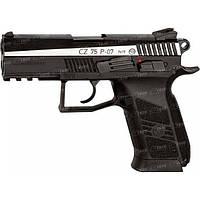 Пістолет пневматичний ASG CZ 75 P-07 Duty Blowback. Корпус - металл