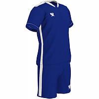 Детская футбольная форма Swift Prioritet сине-белая (р. 134см)