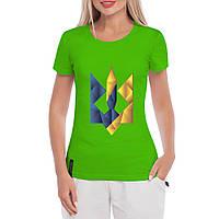 Женская футболка с Гербом Украины , фото 1