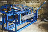 Автоматический станок для производства сетки рабицы на 220В