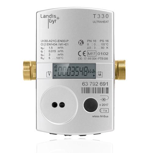 Теплолічильник Landis+Gyr Ultraheat T330 DN15, DN20