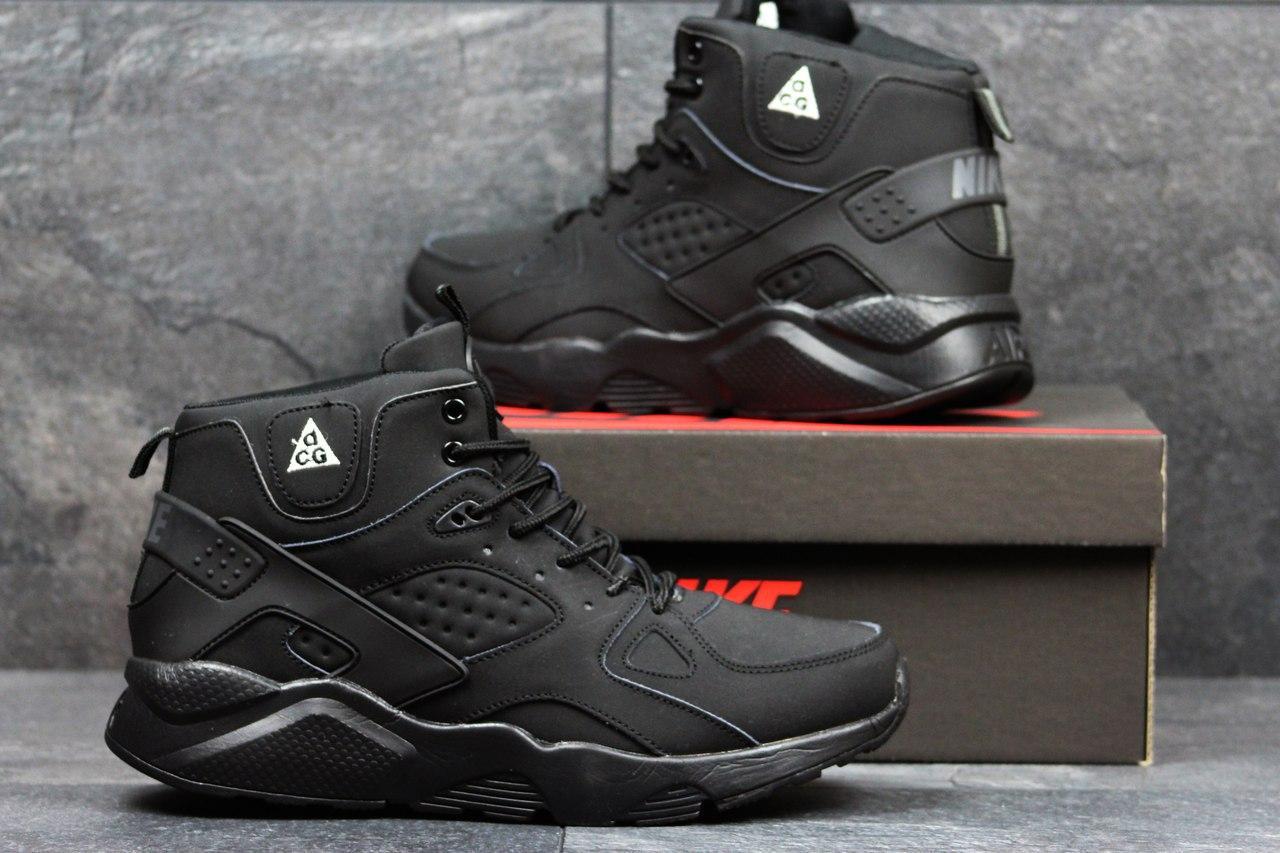 72124247 Мужские зимние кроссовки Nike Huarache черный 3613 - Я в шоке!™ в  Хмельницком