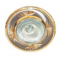 Встраиваемый светильник Feron 246DL титан золото 17899