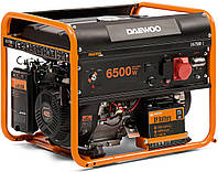 Бензиновый генератор Daewoo GDA-7500Е-3 (6.5 кВт, электростартер, 3-х фазный)