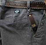 Кожаный брелок для ключей c карабином, фото 8